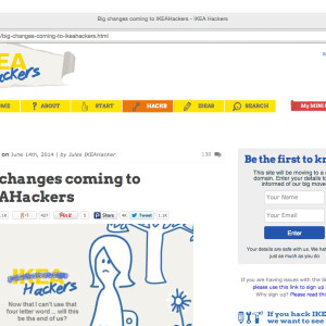 big changes to IKEA hackers