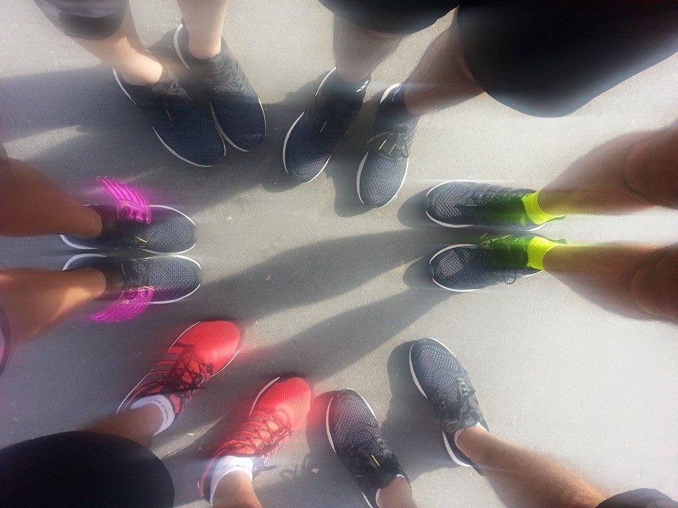 StraMilano: foto di rito alle scarpe (by Rossana)