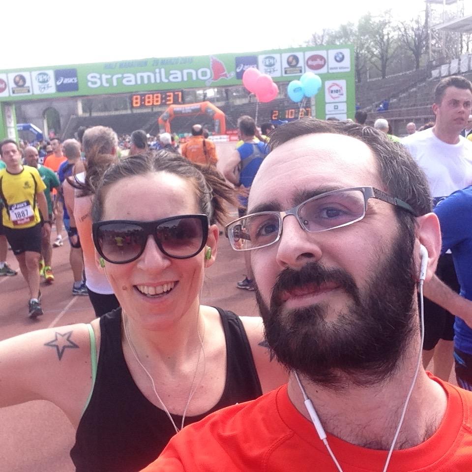 StraMilano mezza maratona fine 2
