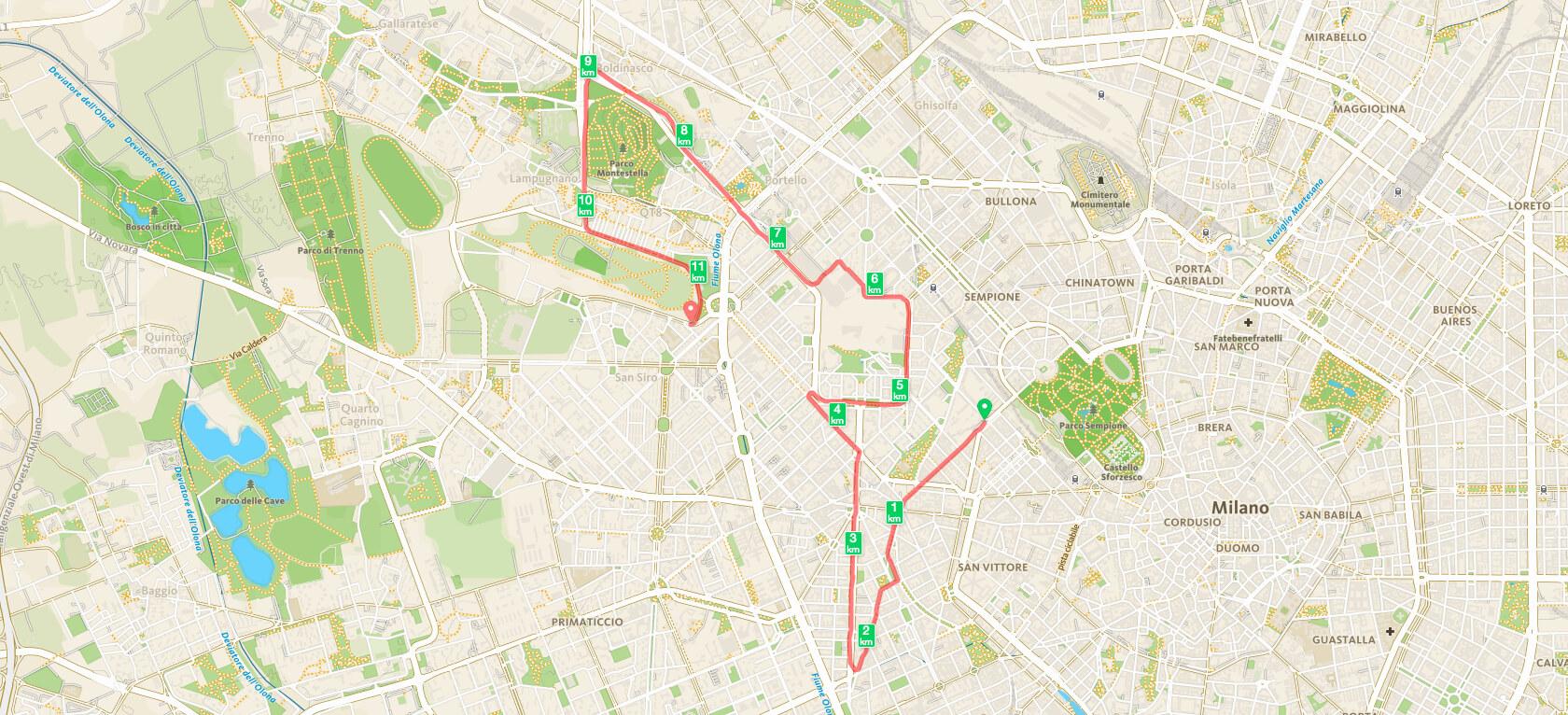 seconda frazione milano marathon cityrunners