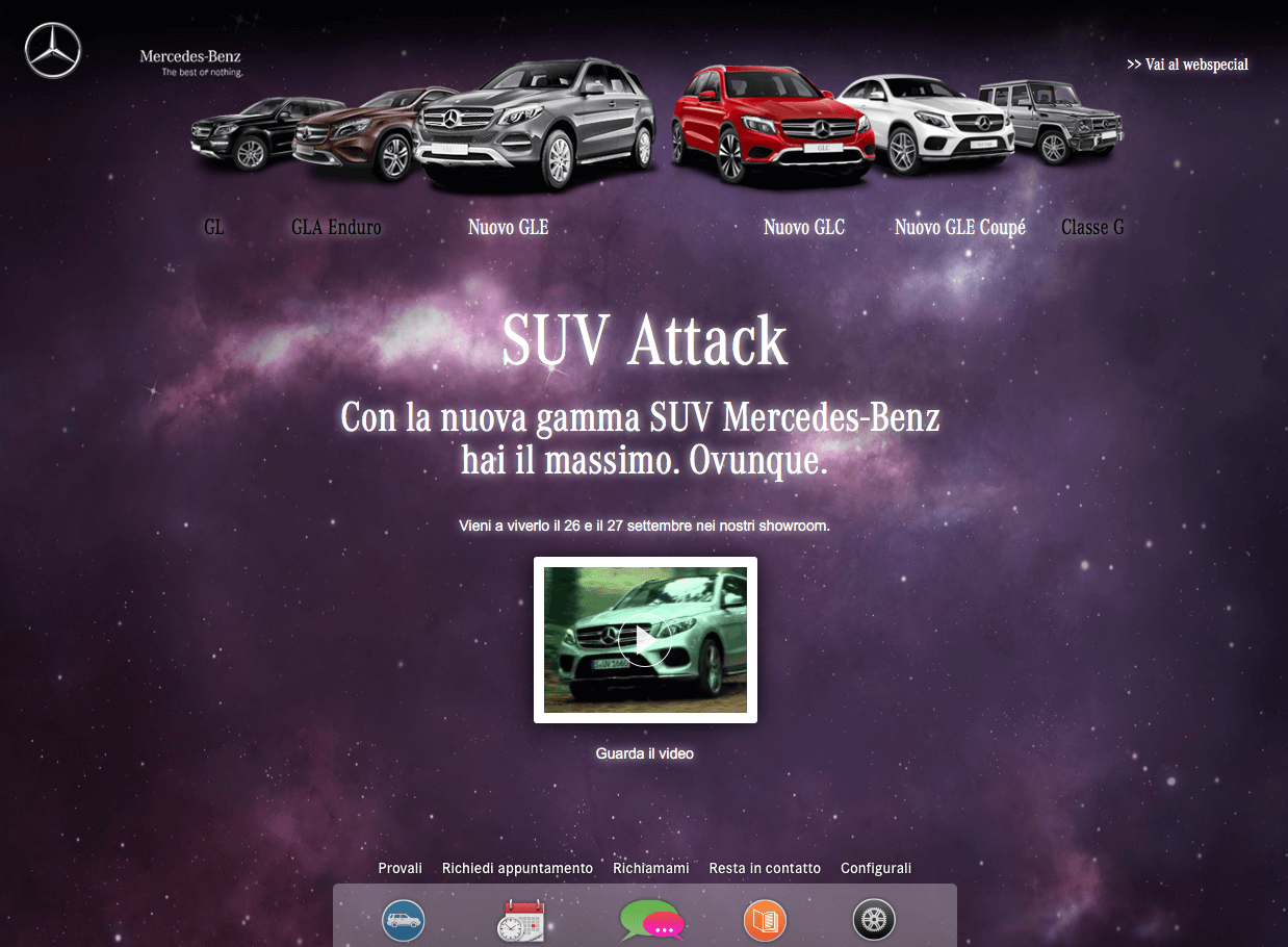 Mercedes SUV Attack - Home OSX