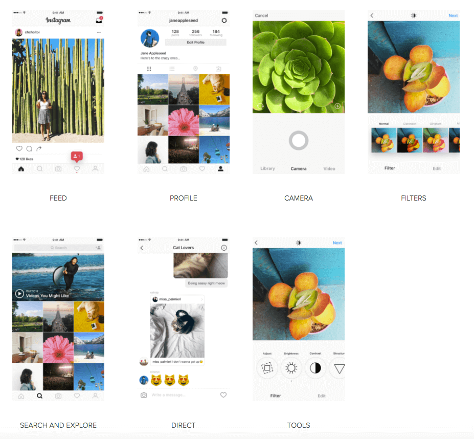 instagram app new look